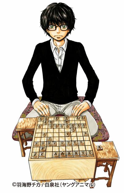 [拡大画像]KONAMI、AC「天下一将棋会2」と「3月のライオン」がコラボ。桐山零ら登場キャラクター達と対局できる! より