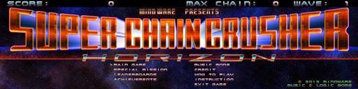4Gamer.net ― 超ワイド画面が必須のシューティングゲーム「Super Chain Crusher Horizon」が9月に登場 より